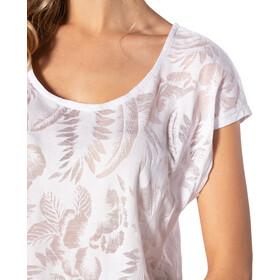 Rip Curl Viamala Flower T-shirt Dames, white